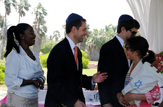 The Tiny Torah Travels to Jamaica