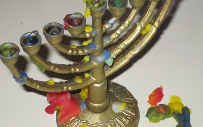 Cleaning Your Chanukah Menorah