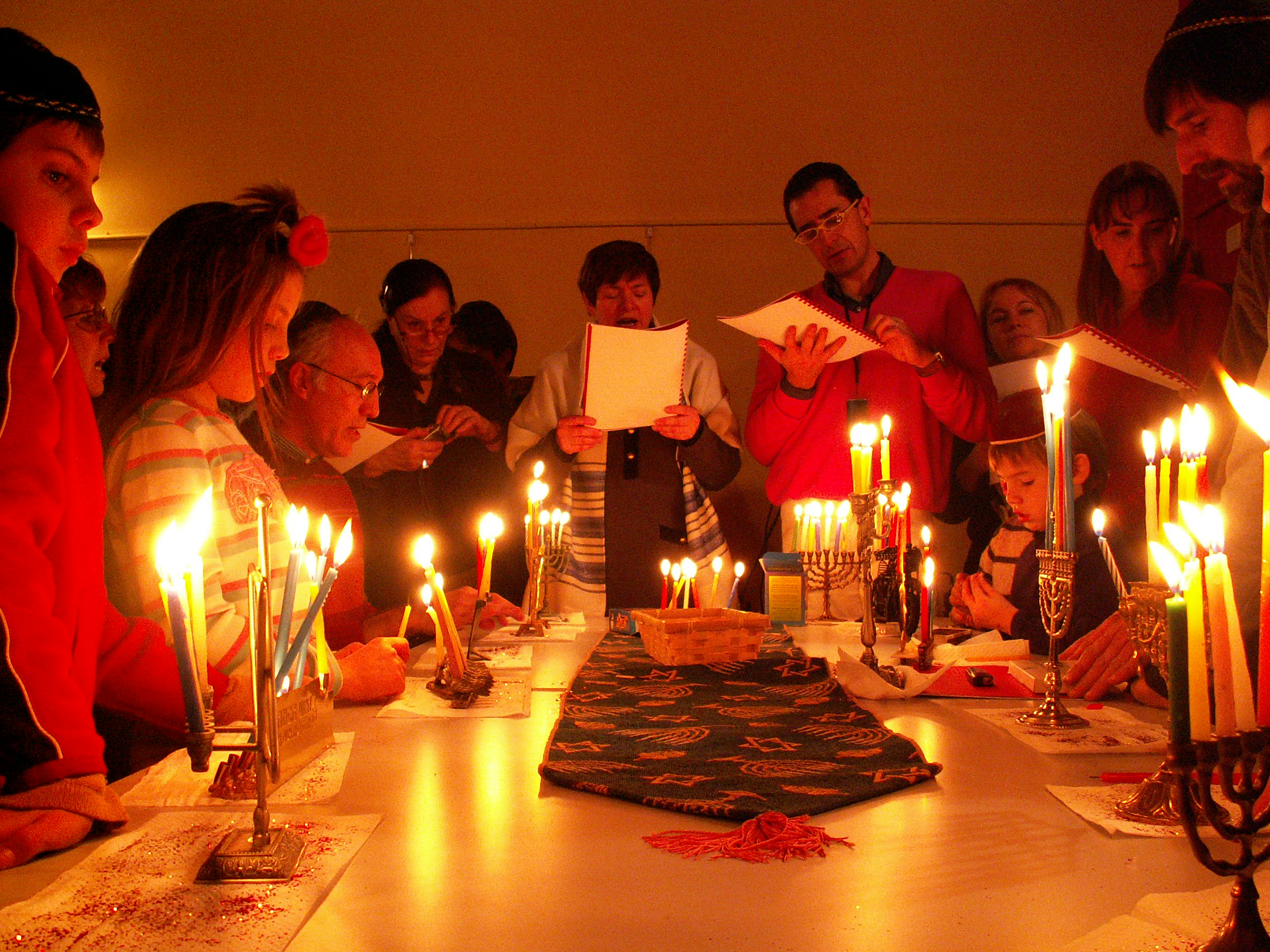 Chanukah Candle Lighting Blessings