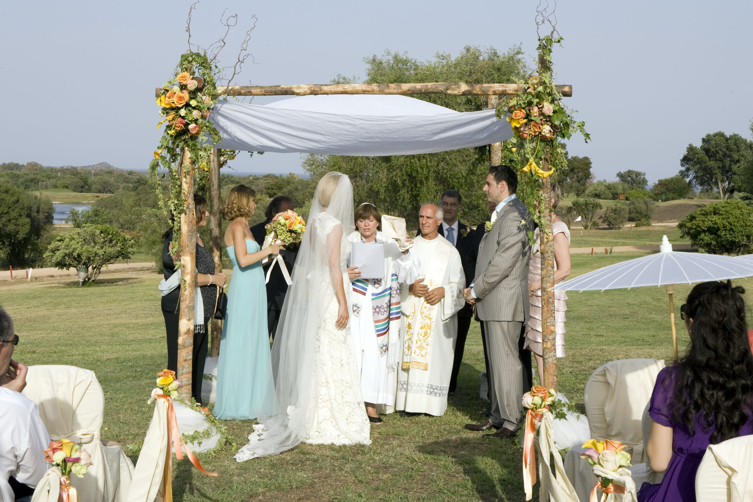 Jewish Interfaith Wedding